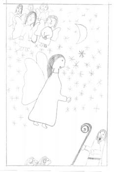 xandry - bethlehem, die hirten, die geburt jesu: 1-3